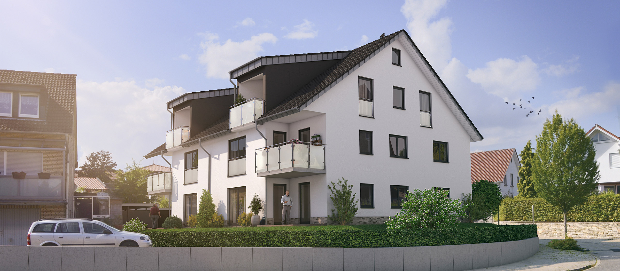 Neubau-ETW im Zentrum von Schledehausen