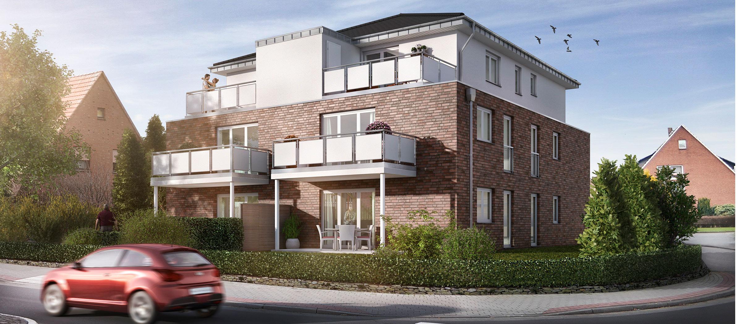 Neubau-Eigentumswohnungen in Hagen-Gellenbeck