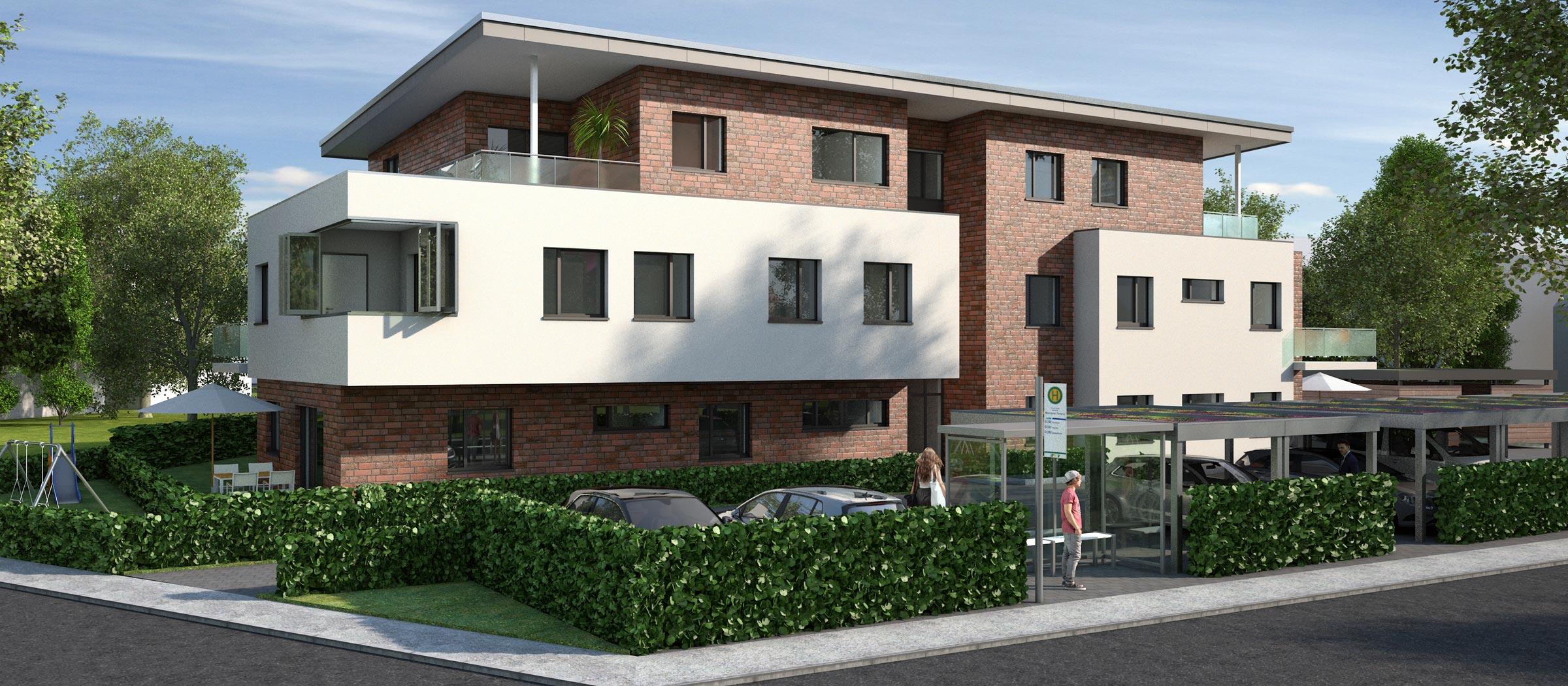 Neubau-Mietwohnungen in Harderberg