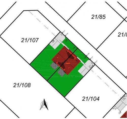 Karten_lageplan: Lageplan Grundstück