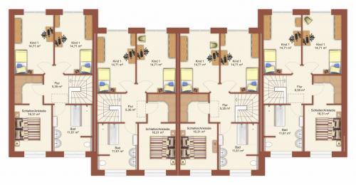Grundriss: Grundrissskizze Dachgeschoss
