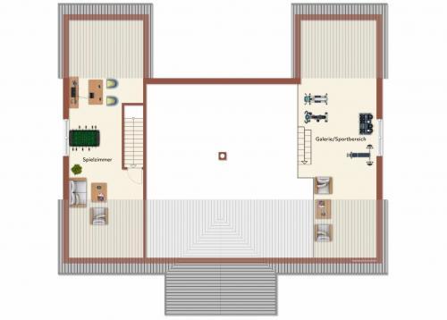 Grundriss: Grundriss Dachgeschoss