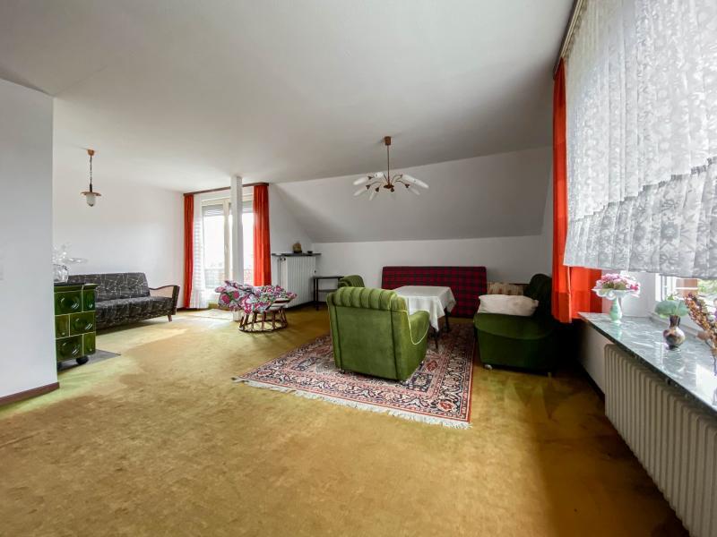 Innenansichten: Wohnzimmer Dachgeschoss